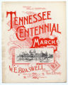 Tennessee Centennial March sheet music cover