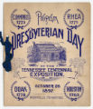 Presbyterian Day Program of the Tennessee Exposition, 1897