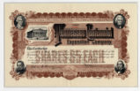 Tennessee Centennial Exposition Company Stock Certificate