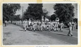 Military band marching in Seventh Regiment Maneuver Parade