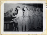 Food service line, Clarksville Armory