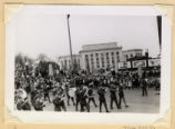 Military board marching in 1942 Army Day Parade