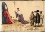 Pope Gregory XVI and his army