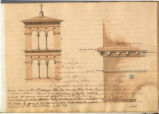 Roman tower of the 12th Century