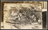 Aerial view of fortified French city