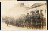 A platoon of 105th Engineers