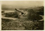 Camouflaged German Battery near Ostend
