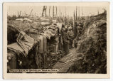 "Trench scene at Batagland ""Four de Paris"""
