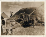 Threshing, near Lewisburg