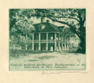 Jackson's Headquarters on New Orleans Battlefield