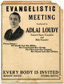 Evangelistic Meeting Conducted by Adlai Loudy