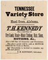 Tennessee Variety Store at Hazel Green, Alabama