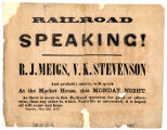 Railroad Speaking! Featuring R. J. Meigs, V. K. Stevenson