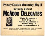 McAdoo Primary Election