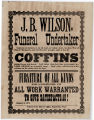 J.B. Wilson, funeral undertaker, continues business