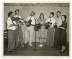 Country band playing WSM broadcast