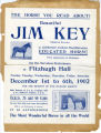 Broadside of Beautiful Jim Key's 1902 appearance in Rochester, New York