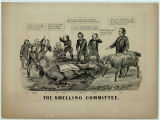 """The Smelling Committee,"" illustration by John Cameron"