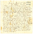Correspondence from A. C. Montgomery to G. R. Rutledge, March 12, 1862