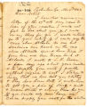 Correspondence from G. R. Rutledge to Robert Rutledge, November 2, 1863