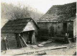 Alvin C. York story -- mountain man's house