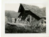 Alvin C. York story -- log barn