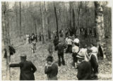Alvin C. York story -- gathering for rifle shoot