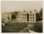 Tennessee School for the Deaf and Dumb -- Cottages A and B under construction