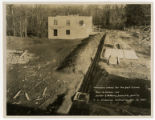 Tennessee School for the Deaf and Dumb -- Boiler House under construction
