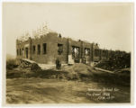Tennessee School for the Deaf gymnasium under construction, first floor