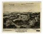 Design sketch of the campus of the Tennessee School for the Deaf and Dumb.