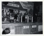 WSM Grand Ole Opry performance on stage at the Ryman, close-up from left