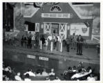 Grand Ole Opry cast onstage at the Ryman Auditorium