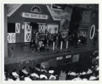 Grand Ole Opry performance on stage at the Ryman, from left