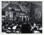 Roy Acuff and Smoky Mountain Boys on stage at the Ryman