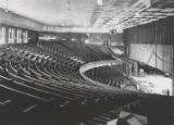 Ryman Auditorium interior from extreme right