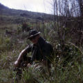 SGT Christopher D. Ammons resting while on patrol
