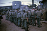 Soldiers preparing to leave on patrol