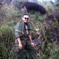 SGT Christopher Ammons on patrol  near Vung Chua Mountain