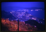 Qui Nhon at night from Vung Chua Mountain