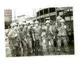 Soldiers preparing for patrol