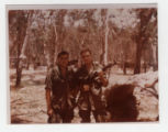 SP4 Christopher Ammons and SGT Eldridge at Lai Khe