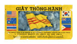 Safe conduct pass issued by the Republic of  Vietnam