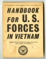 Handbook for U. S. forces in Vietnam
