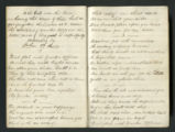 "Nannie Haskins Diary entry with a poem entitled, ""To the Girls Over the Lines"" by John..."