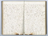 Rachel Carter Craighead diary entry records encounter with 69th Ohio and graveyard visit