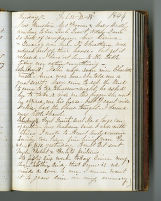 Rachel Carter Craighead diary entry, 1864 February 12-14