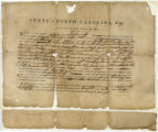 North Carolina land warrant, No. 94