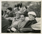 President Franklin D. Roosevelt, First Lady Eleanor Roosevelt, and Governor Prentice Cooper at...