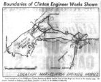 Boundaries of Clinton Engineer Works Shown [Page 6 of News-Sentinel]